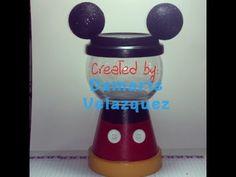 DIY Mickey Gumball Machine