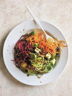 Curly Rainbow Salad | Donna Hay