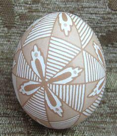 Amazing new real blown easter egg. Handpainted eggs Western Ukraine culture folk