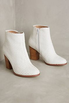 Billy Ella Woven Ankle Boots