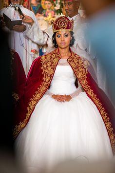 Habesha wedding B&S Ethiopian Wedding Dress, Ethiopian Dress, African Wedding Dress, African Weddings, Ethiopian Traditional Dress, African Traditional Dresses, Ethiopian Beauty, Jamaican Wedding, Informal Wedding Dresses