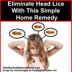 Eliminate Head Lice With This Simple Home Remedy