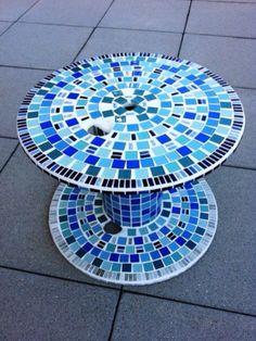 Trabalho de mosaico.