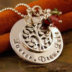 Hand Stamped Mommy Jewelry  Sterling Silver by IntentionallyMe, $65.00