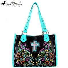 Montana West Spiritual Collection Bling Tote