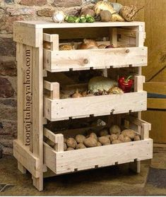 Build a mobile kitchen island unit with timber crate pantry storage! Build a mobile kitchen island unit with timber crate pantry storage! Fruit Storage, Pantry Storage, Diy Storage, Storage Ideas, Kitchen Storage, Crate Storage, Storage Rack, Food Storage, Ikea Bathroom Storage