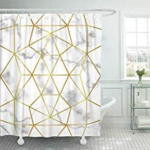Emvency Shower Curtain 72x78 Inch Home Postcard Decor Abstract