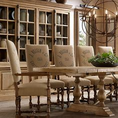 French Coffee Burlap Bags   1890 English Baroque Printed Burlap (Set of Chairs) $798 - $2214 from ...