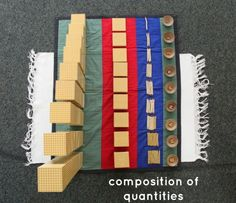 Montessori Math Lesson Composition of Quantities