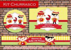 Kit Festa Churrasco chá de cozinha