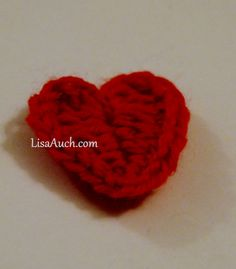 Easy to Crochet Heart