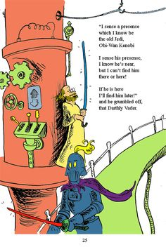What if Dr. Seuss had written and drawn Star Wars?