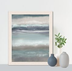 Nautical theme, gift for him, ocean artwork, contemporary art, modern abstract, beach house decor, coastal living decor, - Sea breeze 2 Art Prints, Fine Art, Painting, Ocean Artwork, Art, Abstract, Contemporary Art, English Artists, Ocean