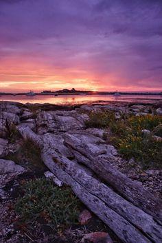 Atlantic Sunrise - Star Island New Hampshire ROKKOR 100+