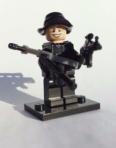 NEW CUSTOM BATMAN LEGO SNIPER WEAPONS SOLDIER NAVY ARMY RANGER LEGO BRICK WARS #LEG0