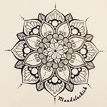 """111 Likes, 2 Comments - mandalas and doodles (@mandalachick) on Instagram: """"Recently became obsessed with drawing mandalas 😍🌞 #mandala #art #doodle #pretty #cool #tattoo…"""""""
