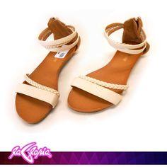 #Sandalias #Bajas porque el #Verano llego! #Calzado 1er.Semi-Piso