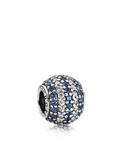 PANDORA Charm - Sterling Silver, Cubic Zirconia - Ryan picked this one out for me and I love it!!! :)