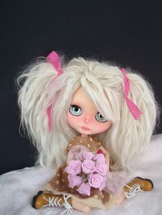 https://flic.kr/p/r2WgJi | ZEINA | MY FIRST COMPLETE BLYTHE CUSTOM