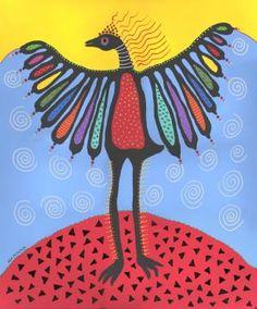 Bird Dance, painting