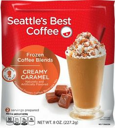New Age Mama: Seattle's Best Coffee: Frozen Coffee Blends - #Giveaway
