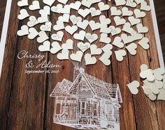 Hochzeit Gästebuch Alternative Gast Buch Poster von fancyprints