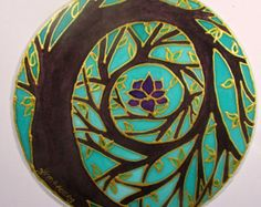 Arcobaleno arte di albero Mandala spirituale regali albero