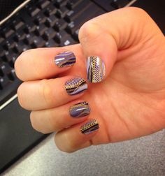 Jamberry Nail Wraps - Off the Chain