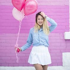 Afficher l'image d'origine Emma Verde, Youtubers, Tennis Skirts, Tulle, Girly, Poses, Outfits, Clothes, Instagram