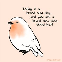 Bird with quote
