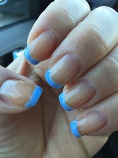 French blue, French tips