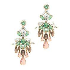 J.Crew - Crystal cascade earrings