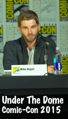Executive Producer Tim Schlattmann joined by actors Colin Ford, Marg Helgenberger & Mike Vogel for the Under The Dome Comic-Con 2015 Panel.  http://underthedomeradio.com/cc2015
