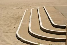 curved cement steps - Google Search