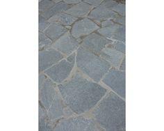 Mediterrane Optik Einfache Verlegung Terrassenplatte Talea - Gehwegplatten anthrazit 60 x 40