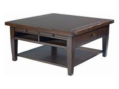 Shop for Artistica Pastoral All Wood Square Storage Cocktail, 266-205, and other Living Room Tables at Willis Furniture in Virginia Beach, VA. Attractive looks and a versatile build make this table an imperative inclusion.  With an adaptable design and pleasing aesthetics, this table is an all-inclusive solution to providing both style and utility.