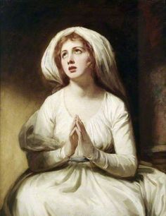 Emma Hart at Prayer by George Romney EH Kenwood House