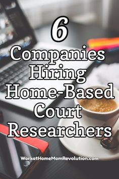 Courthouse research is a home-based opportunity many people find appealing. It's flexible. You set your own hours, to some extent, in this home-based job. Awesome work from home career! If you're seeking a work at home job, consider a career as a court researcher. You can make money from home!