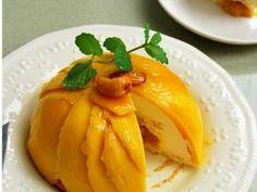 芒果酱蛋糕的做法