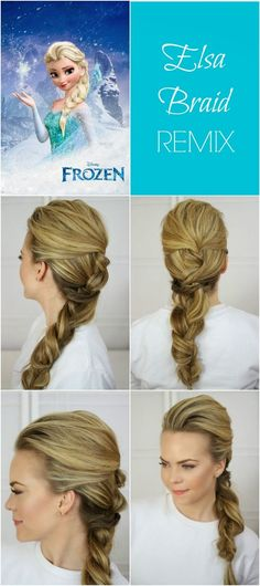 ❤Claire BeautySecrets❤: How to realize Elsa hair in 6 step !
