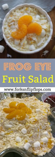 Have you ever heard of FROG EYE FRUIT SALAD? It is a unique 30 minute side dish and dessert that is perfect for family gatherings, holidays and parties. You will wow your friends and family with this unbelievably tasty, cold fruit salad. If your even slightly curious to know what I'm talking about, give this recipe a try!
