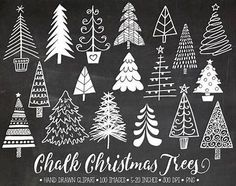 White doodle winter clipart for gift tags, DIY greeting cards. White doodle winter clipart for gift tags, DIY greeting cards. Chalkboard Lettering, Chalkboard Designs, Chalkboard Ideas, Blackboard Chalk, Chalkboard Drawings, Chalkboard Writing, Christmas Tree Clipart, Christmas Crafts, Chalkboard Art