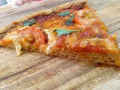 Baking Diary: Pizza Margherita using 100% wholewheat flour