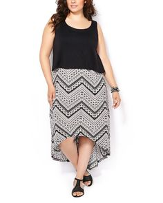 This plus-size dress