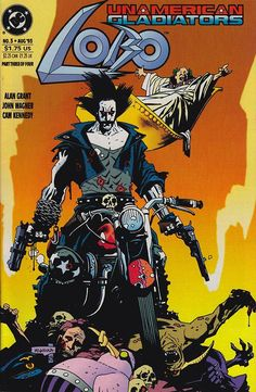 Lobo by Mike Mignola