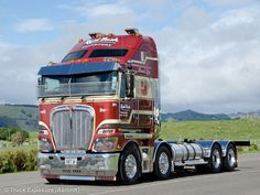 2014 Kenworth Gathering, New Zealand Big Rig Trucks, New Trucks, Custom Trucks, Cool Trucks, Diesel Cars, Diesel Trucks, Freight Truck, Custom Big Rigs, Road Train