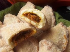 Pumpkin Empanadas | The dough has the texture of a nice shortbread cookie with hints of cinnamon and anise.