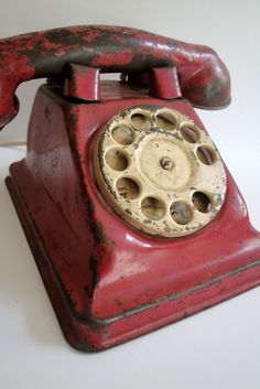 Toy Phone. My mom gave us a real one of these to play with when I was little. My sister and I loved it!