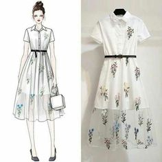 Trendy Fashion Sketches Girl Inspiration Ideas Source by dresses girl White Fashion, Look Fashion, Trendy Fashion, Korean Fashion, Fashion Art, Girl Fashion, Fashion Ideas, Fashion 2017, Fashion Drawing Dresses