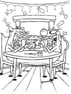10 Catdog Coloring Pages Ideas Coloring Pages Dog Coloring Page Cartoon Coloring Pages